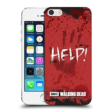 Official Amc The Walking Dead Quotes Help Hard Back Case For Apple Iphone 5 / 5S / Se