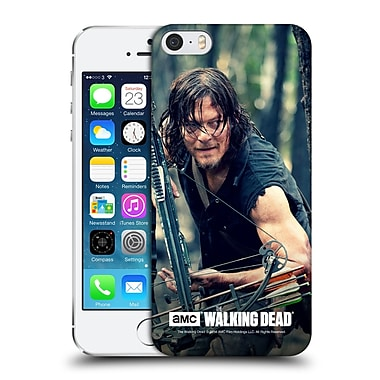 Official Amc The Walking Dead Daryl Dixon Lurk Hard Back Case For Apple Iphone 5 / 5S / Se