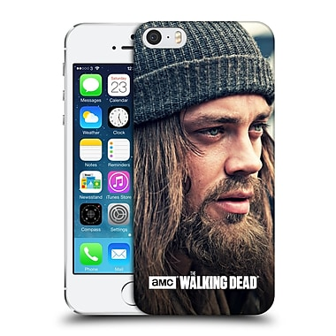 Official Amc The Walking Dead Jesus Staring Into Distance Hard Back Case For Apple Iphone 5 / 5S / Se