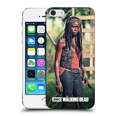 Official Amc The Walking Dead Michonne Stare Hard Back Case For Apple Iphone 5 / 5S / Se