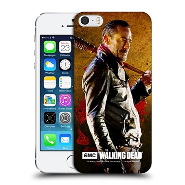 Official Amc The Walking Dead Negan Lucille 1 Hard Back Case For Apple Iphone 5 / 5S / Se