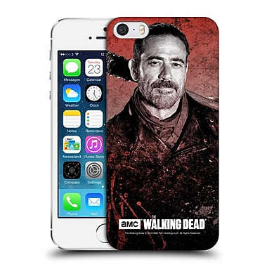 Official Amc The Walking Dead Negan Lucille 2 Hard Back Case For Apple Iphone 5 / 5S / Se
