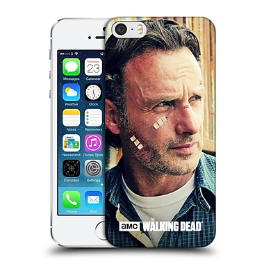 Official Amc The Walking Dead Rick Grimes Cuts And Bandages Hard Back Case For Apple Iphone 5 / 5S / Se