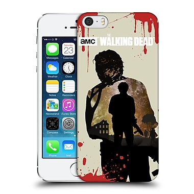 Official Amc The Walking Dead Silhouettes Glenn Hard Back Case For Apple Iphone 5 / 5S / Se