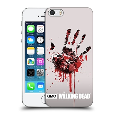 Official Amc The Walking Dead Silhouettes Hand Hard Back Case For Apple Iphone 5 / 5S / Se