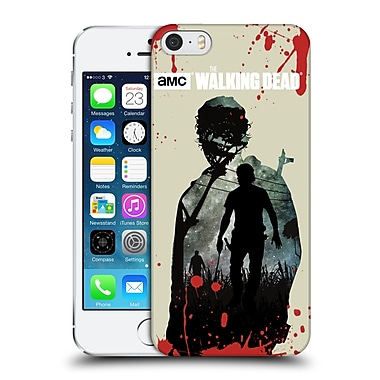 Official Amc The Walking Dead Silhouettes Rick Hard Back Case For Apple Iphone 5 / 5S / Se