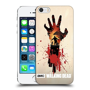 Official Amc The Walking Dead Silhouettes Walker Hand Hard Back Case For Apple Iphone 5 / 5S / Se