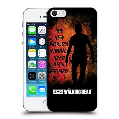 Official Amc The Walking Dead Typography Gonna Need Rick Hard Back Case For Apple Iphone 5 / 5S / Se