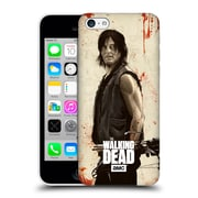 Official Amc The Walking Dead Distressed Illustrations Daryl Hard Back Case For Apple Iphone 5C