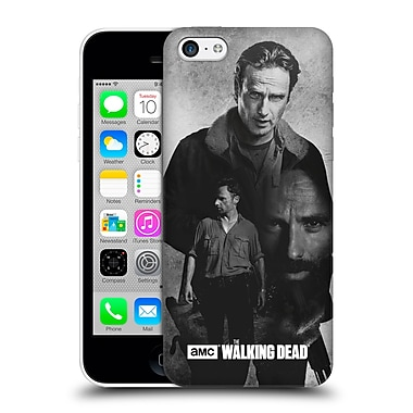 Official Amc The Walking Dead Exposure Rick Hard Back Case For Apple Iphone 5C