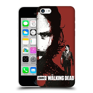 Official Amc The Walking Dead Gore Bloody Face Rick Hard Back Case For Apple Iphone 5C