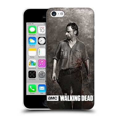 Official Amc The Walking Dead Gore Rick Grimes Hard Back Case For Apple Iphone 5C