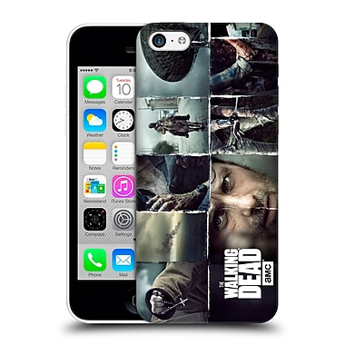 Official Amc The Walking Dead Logo Key Art Horizontal Hard Back Case For Apple Iphone 5C