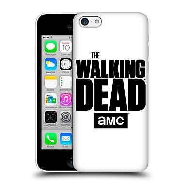 Official Amc The Walking Dead Logo White Hard Back Case For Apple Iphone 5C
