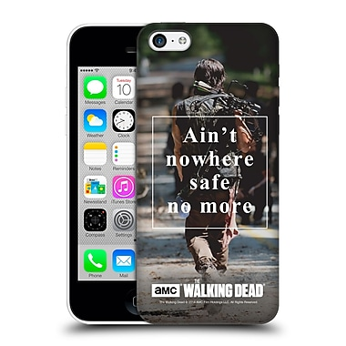 Official Amc The Walking Dead Quotes Daryl Nowhere Safe Hard Back Case For Apple Iphone 5C