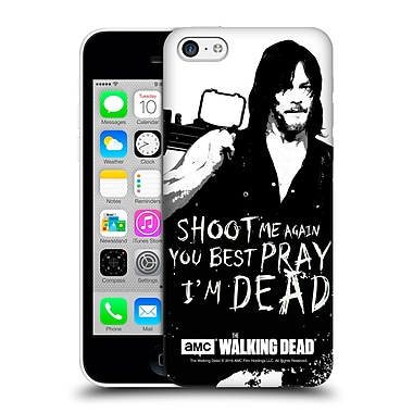 Official Amc The Walking Dead Quotes Daryl Shoot Hard Back Case For Apple Iphone 5C
