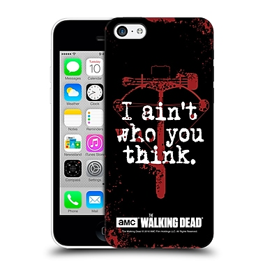 Official Amc The Walking Dead Quotes Daryl Think Hard Back Case For Apple Iphone 5C