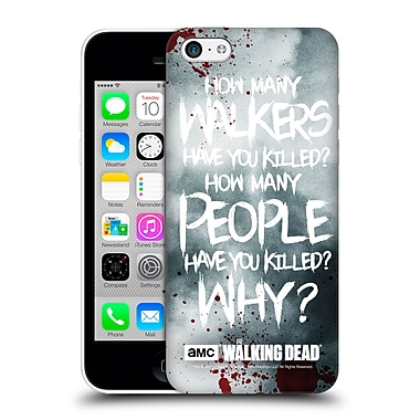 Official Amc The Walking Dead Quotes Rick Questions Hard Back Case For Apple Iphone 5C