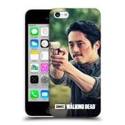 Official Amc The Walking Dead Glenn Rhee Pointing Gun Hard Back Case For Apple Iphone 5C