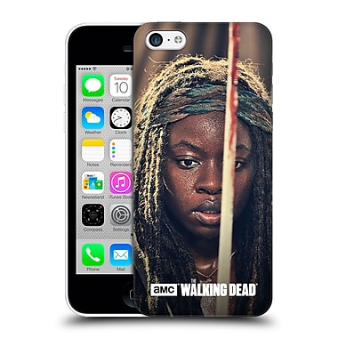 Official Amc The Walking Dead Michonne Bloody Sword Hard Back Case For Apple Iphone 5C