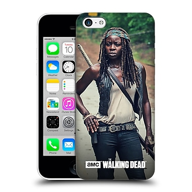 Official Amc The Walking Dead Michonne Stance Hard Back Case For Apple Iphone 5C