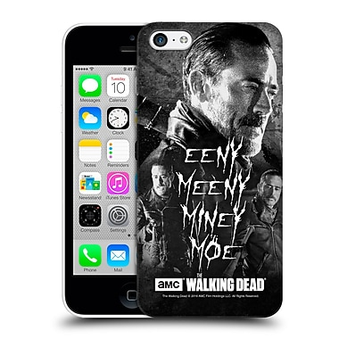 Official Amc The Walking Dead Negan Eeny Miney Bw Hard Back Case For Apple Iphone 5C