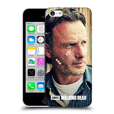 Official Amc The Walking Dead Rick Grimes Cuts And Bandages Hard Back Case For Apple Iphone 5C