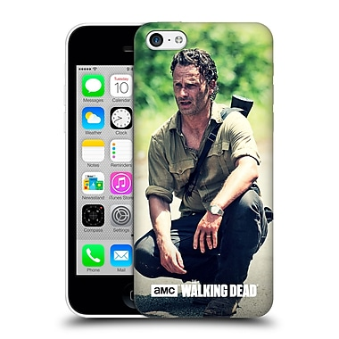 Official Amc The Walking Dead Rick Grimes Squat Hard Back Case For Apple Iphone 5C
