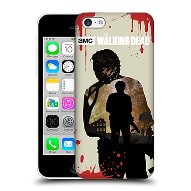 Official Amc The Walking Dead Silhouettes Glenn Hard Back Case For Apple Iphone 5C