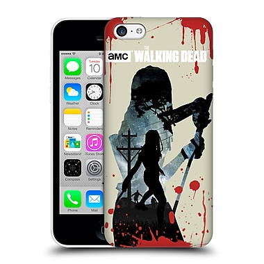 Official Amc The Walking Dead Silhouettes Michonne Hard Back Case For Apple Iphone 5C