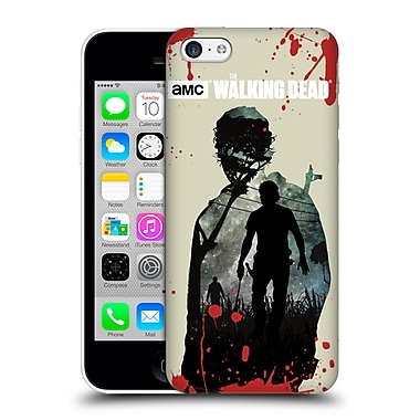 Official Amc The Walking Dead Silhouettes Rick Hard Back Case For Apple Iphone 5C