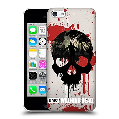 Official Amc The Walking Dead Silhouettes Skull Hard Back Case For Apple Iphone 5C