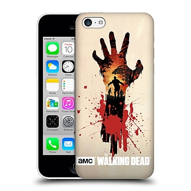 Official Amc The Walking Dead Silhouettes Walker Hand Hard Back Case For Apple Iphone 5C
