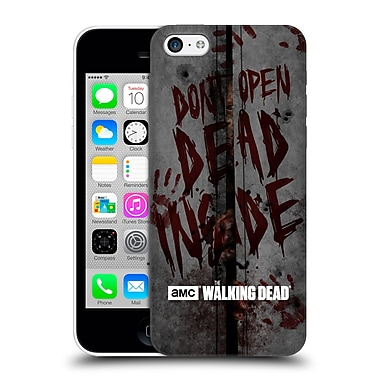 Official Amc The Walking Dead Typography Dead Inside Hard Back Case For Apple Iphone 5C