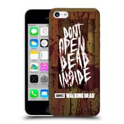 Official Amc The Walking Dead Typography Do Not Open Hard Back Case For Apple Iphone 5C