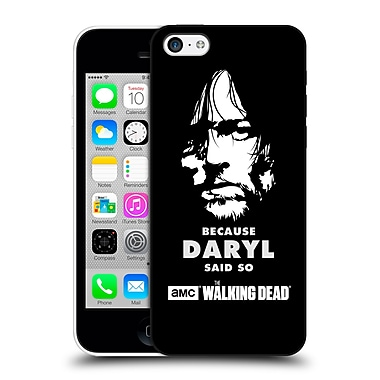 Official Amc The Walking Dead Typography Daryl Says Hard Back Case For Apple Iphone 5C