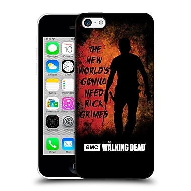 Official Amc The Walking Dead Typography Gonna Need Rick Hard Back Case For Apple Iphone 5C