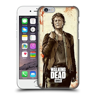 Official Amc The Walking Dead Distressed Illustrations Carol Hard Back Case For Apple Iphone 6 / 6S