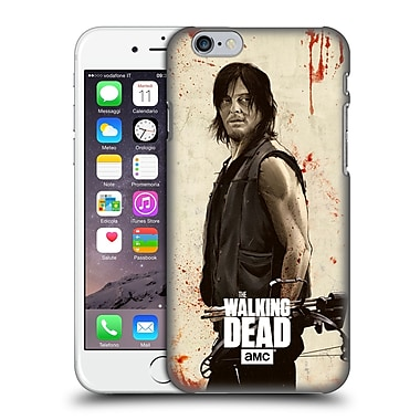 Official Amc The Walking Dead Distressed Illustrations Daryl Hard Back Case For Apple Iphone 6 / 6S