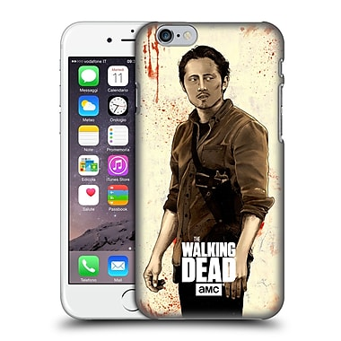 Official Amc The Walking Dead Distressed Illustrations Glenn Hard Back Case For Apple Iphone 6 / 6S