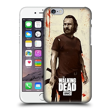 Official Amc The Walking Dead Distressed Illustrations Rick Hard Back Case For Apple Iphone 6 / 6S