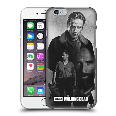 Official Amc The Walking Dead Exposure Rick Hard Back Case For Apple Iphone 6 / 6S