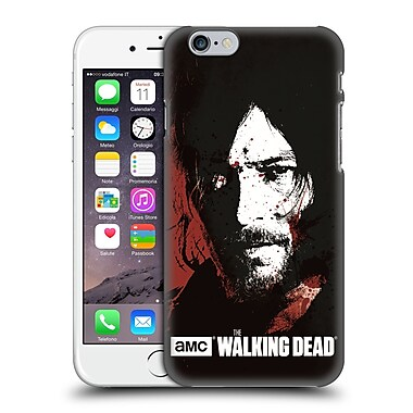 Official Amc The Walking Dead Gore Blood Bath Daryl Hard Back Case For Apple Iphone 6 / 6S