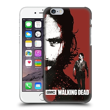 Official Amc The Walking Dead Gore Bloody Face Rick Hard Back Case For Apple Iphone 6 / 6S