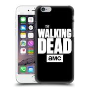 Official Amc The Walking Dead Logo Black Hard Back Case For Apple Iphone 6 / 6S