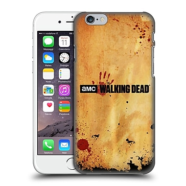 Official Amc The Walking Dead Logo Horizontal Hard Back Case For Apple Iphone 6 / 6S