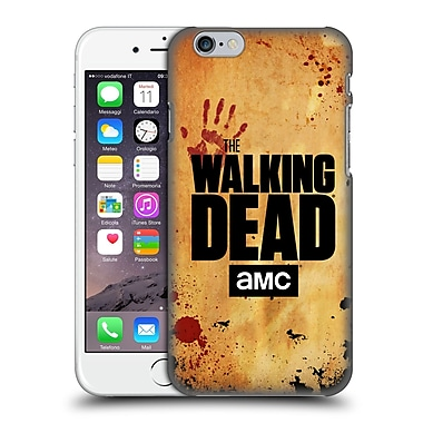 Official Amc The Walking Dead Logo Stacked Hard Back Case For Apple Iphone 6 / 6S