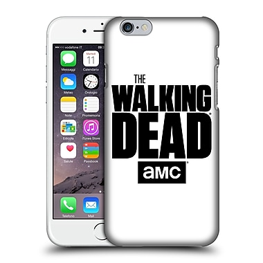 Official Amc The Walking Dead Logo White Hard Back Case For Apple Iphone 6 / 6S