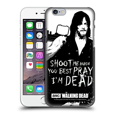 Official Amc The Walking Dead Quotes Daryl Shoot Hard Back Case For Apple Iphone 6 / 6S