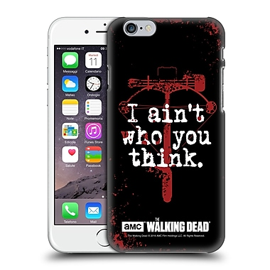 Official Amc The Walking Dead Quotes Daryl Think Hard Back Case For Apple Iphone 6 / 6S